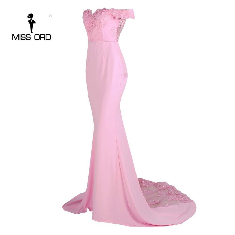 فستان سهرة  Missord جذاب مع ذيل وذو تصميم مميز 15