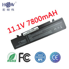 7800MAH laptop battery For SAMSUNG R428 R429 R430 R460 R462 R463 AA-PB9NC6B AA-PB9NC6W AA-PB9NC6W/E battery,Free shipping,