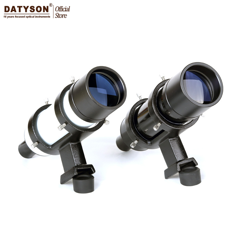 7x50 Finder scope 7X Magnification Astronomical Telescope Finderscope Riflescopes With Sight Cross Hair Reticle