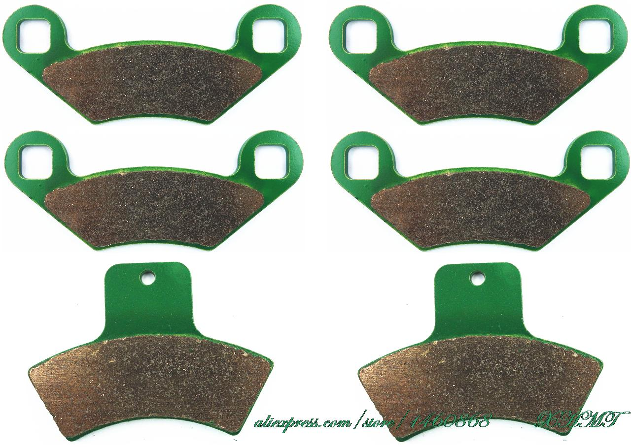 Brake Pads Set For Polaris Atv Sportsman 335 1999 2000 / 400 2001 2002 / 500 1998 1999 2000 2001 2002 Cc