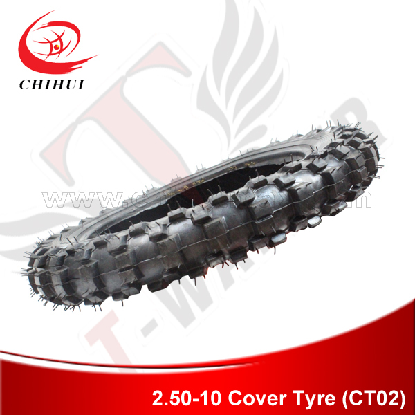 High Quality Electric Scooter Tires GUANGLI Brand 2.50-10 Off-Road 16 Wheel Tire for Electric Scooter/Dirt Bike