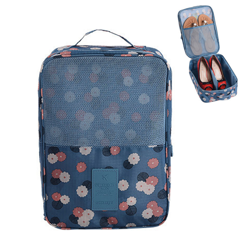 Oxford cloth Waterproof Portable Cosmetic Organizer Makeup bag Travel Shoes Storage Tote Toiletries Laundry Shoe Pouch Bag