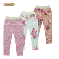 Kids Leggings For Girls Summer Style New 2016 Girl Legging Floral Skinny Pencil Pants Baby Trousers Cotton Children Clothing