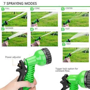 Image 3 - 25 10FT Flexible Garden Water Guns Garden Hose Pipe Multi  Function High Pressure Spray Nozzle Collapsible Hose for Garden Car