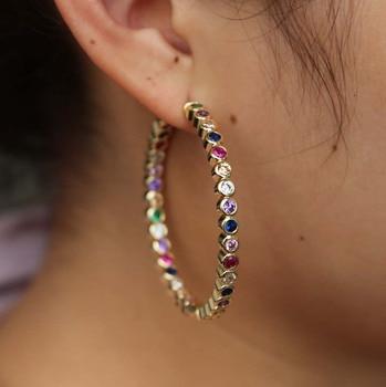 762d4a36c866 SHANICE Punk 925 joyería de plata de ley pendientes de aro de diseño de  cadena para mujeres Retro Twist Thai plata boucle d oreille femme