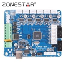 Placa de control de impresora reprap 3d zribv2/v3 compatible con rampas 1.4 impresora reprap mendel prusa zonestar p802 d810