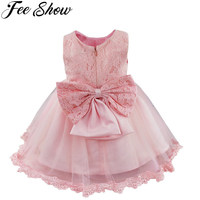 Winter Baby Girl Christening Gown Infant Princess Dress 1st Birthday Outfits Children Kids Party Wear Dress