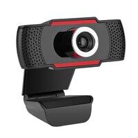 HD 720 마력 회전 PC 컴퓨터 카메라 비디오 통화 기록 잡음 제거 마이크, 클립 스타일 데스크탑 노트북 네트워크