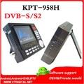 Dvb-s2 sáb buscador de Satlink WS-6922 KPT-958H 4.3 pulgadas TFT LED de mano satfinder satélite satfinder KPT 958 H hd dvb s2 satlink