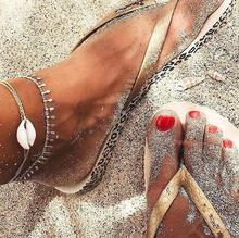 SeaShell Anklet For Women Foot Jewelry Summer Beach Barefoot Bracelet Ankle On Leg strap Bohemian Accessories