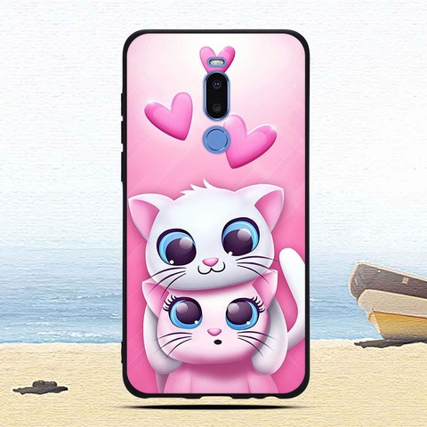 Case For Meizu Note 8 Colorful Patterned Soft TPU Silicone Ultra-thin Protective cases Back phone shell covers fundas coque capa Multan
