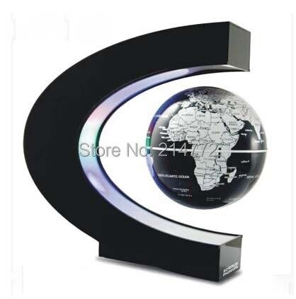 Electronic Magnetic Levitation Globe DC12V Novel Light Christmas Gift  Decoration Lamp For Home,Office Free Shipping