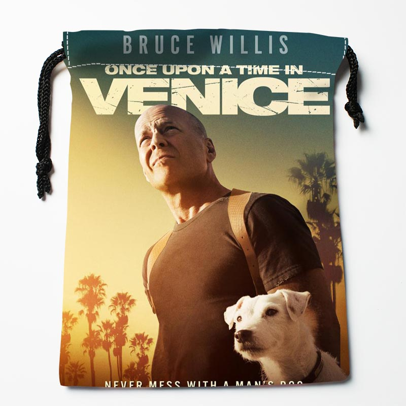 Hot Sale Custom Once Upon A Time In Venice Drawstring Bags Custom Storage Bags Storage Printed Gift Bags More Size 27x35cm