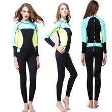 Seac women wetsuit diving suit 3mm neoprene womens surf swimwear