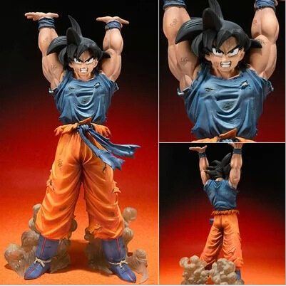 Dragon Ball Z Action Figures Bandai Zero Battle Version Son Goku PVC Figure Dragonball Z Figures 15CM Collectible Model Toy Goku