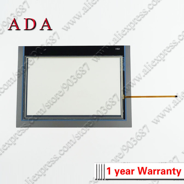"""Panel de cristal para pantalla táctil, digitalizador para 6AV2124 0MC01 0AX0 6AV2 124 0MC01 0AX0 TP1200, Panel táctil cómodo de 12 """"con superposición"""