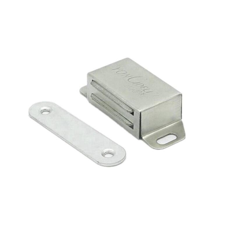 5.5KG Strong Magnetic Door Closer Cabinet Cupboard Latch D20mm Countersunk 6PK