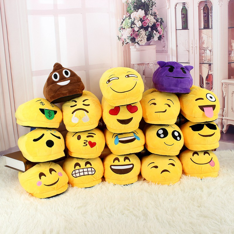 18-Styles Slippers Household-Shoes Winter Cartoon Warm Sweet Unisex Plush Expression