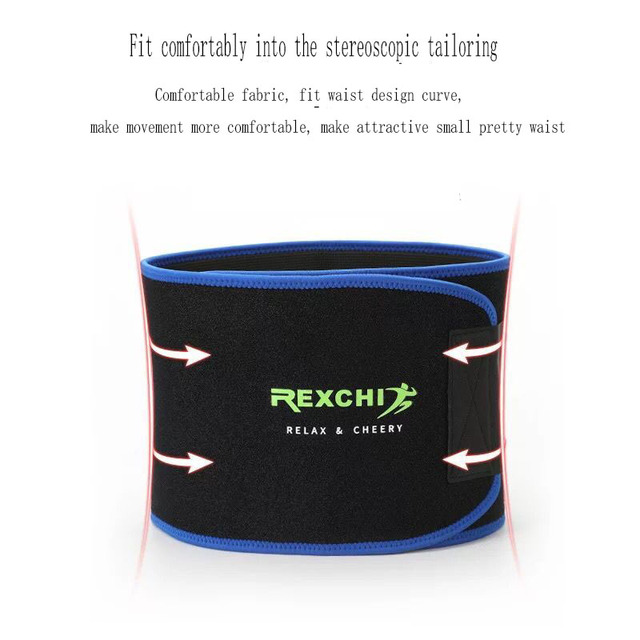 Corset waistband sports and fitness waist  general sweat body-building yoga elastic weight-lifting belt belly band 4