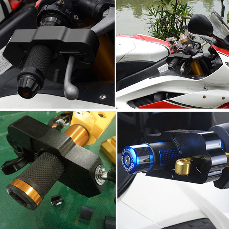 Hot Motorcycle Handlebar Lock Brake Lever Grip Security Safety Anit-Theft Protection BX
