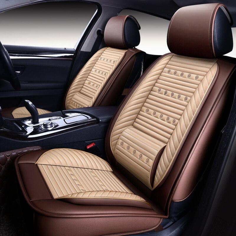 OUMANU 2018 nouvel arrivel housses de siège de voiture pour Toyota Corolla Camry Rav4 Auris Prius Yalis Avensis SUV accessoires auto