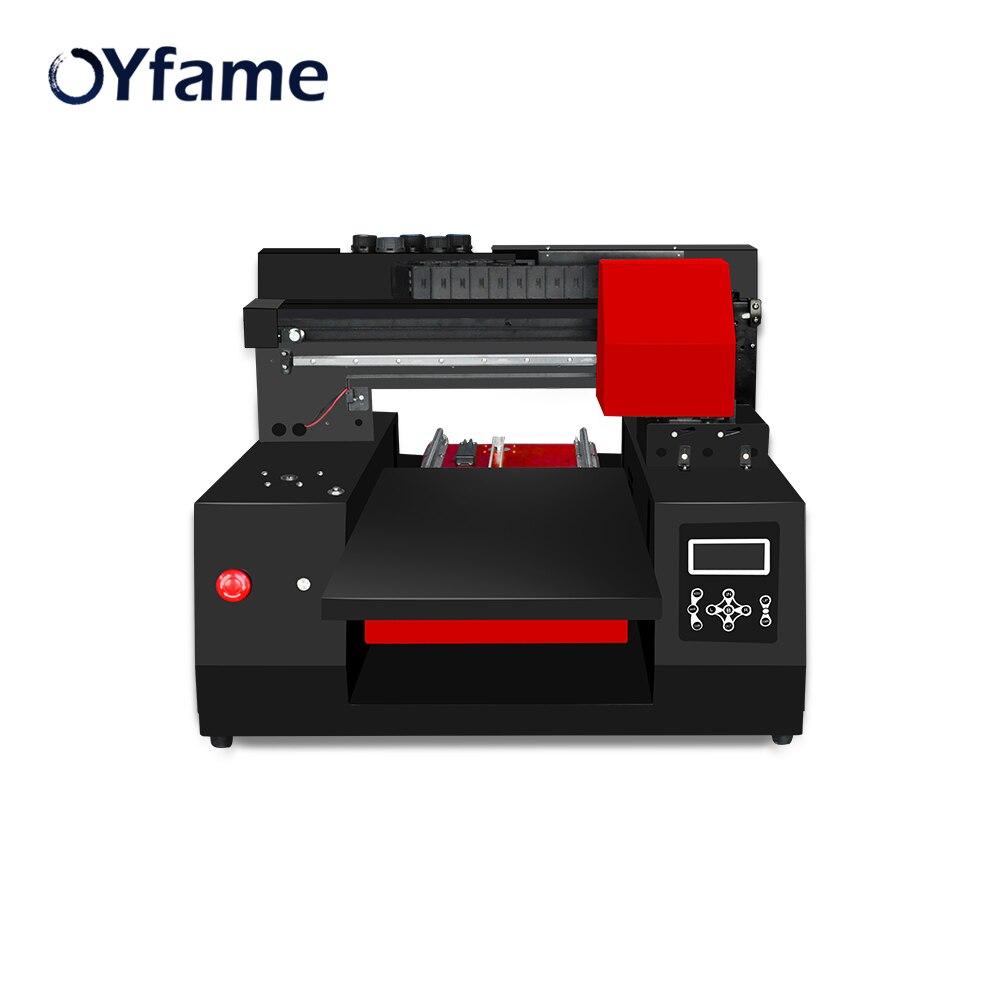 OYfame A3 3060 imprimante UV automatique Machine d'impression uv pour coque de téléphone en cuir bouteille en bois cylindre imprimante à jet d'encre vitesse rapide