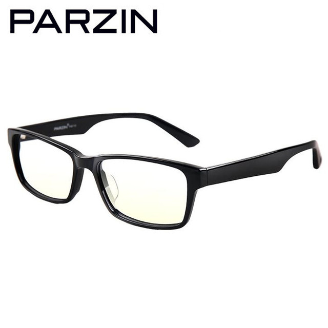 Parzin gafas marcos ultra-ligero hecho a mano moda gafas marco miopía marco de los vidrios 615