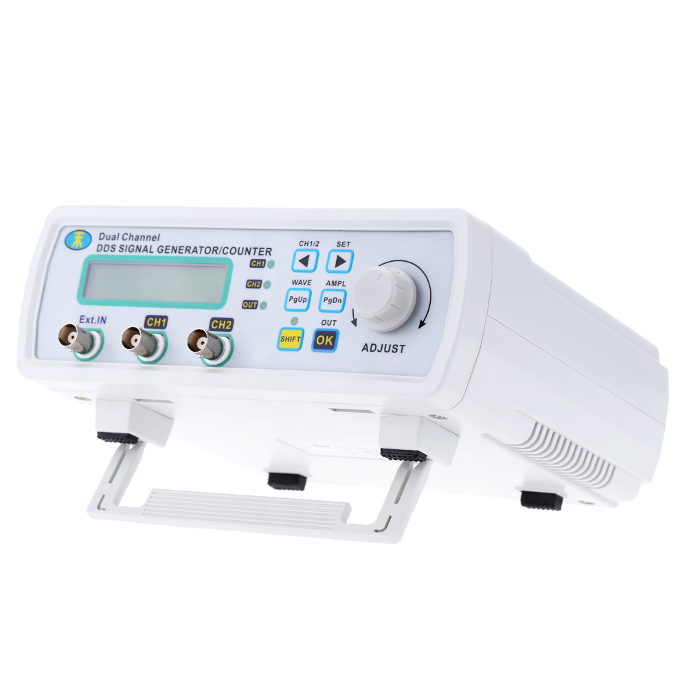 Mini Digital DDS Signal Generator Function Signal Source Meter Dual-channel Arbitrary Waveform Frequency generator200MSa/s 25MHz