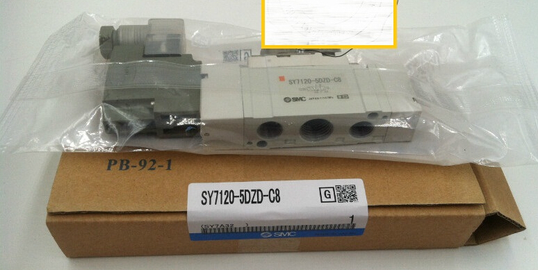 BRAND NEW JAPAN SMC GENUINE VALVE SY7120-5DZD-C8 brand new japan smc genuine shock absorber rb1411