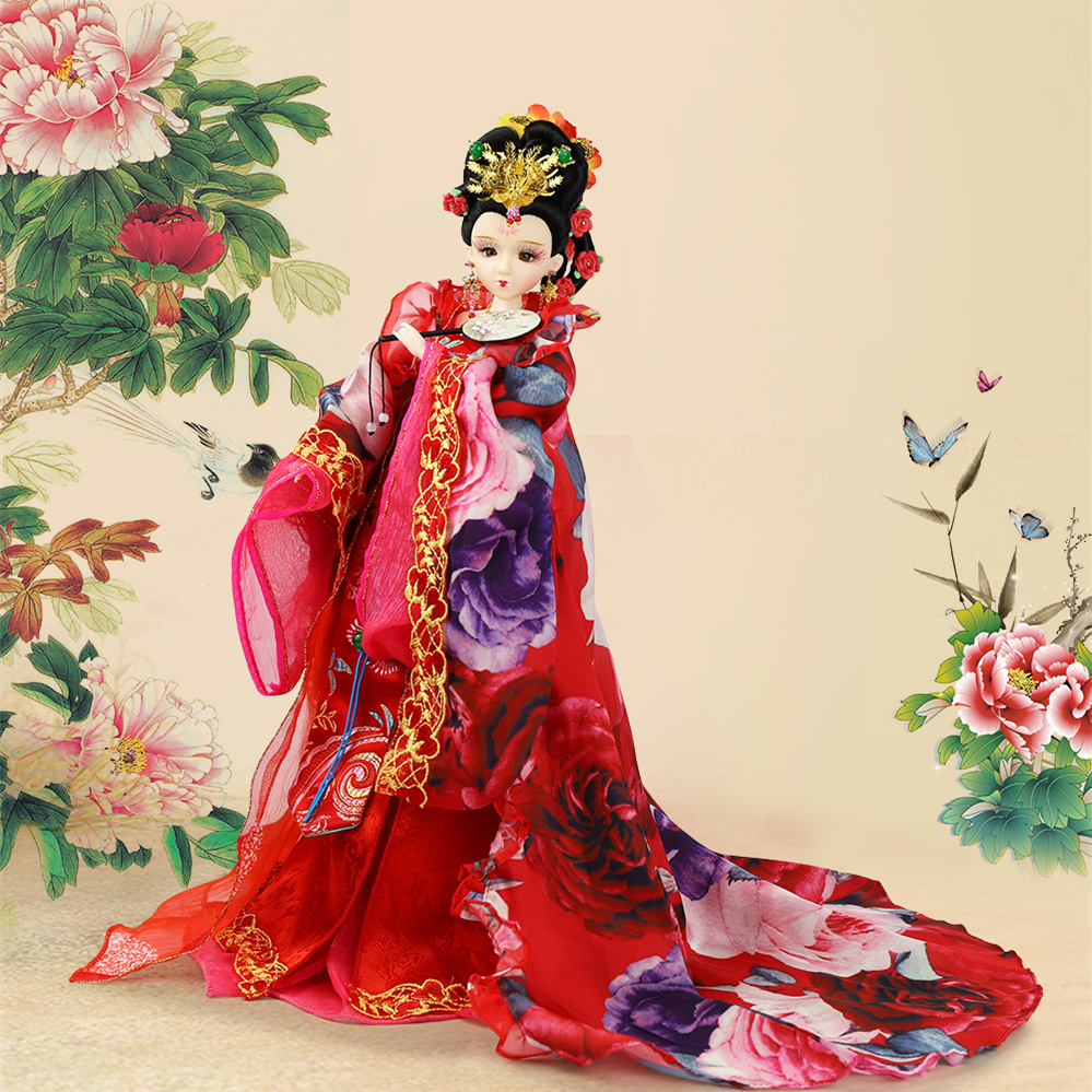 все цены на Fortune Days East Charm doll Ancient China Xiu Hua 1/6 like BJD Blyth doll with makeup 14 Joint body High Quality gift онлайн