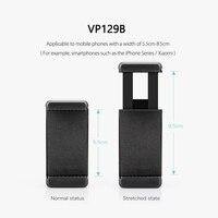 Vamson Универсальный мобильный телефон с зажимом держатель кронштейн адаптер для смартфона камеры сотовый телефон штатив Стенд монопод VP129 2