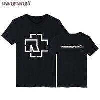 Rammstein Print Funny T Shirts Mens Short Sleeve TShirts And Rammstein T Shirt Men Luxury Summer