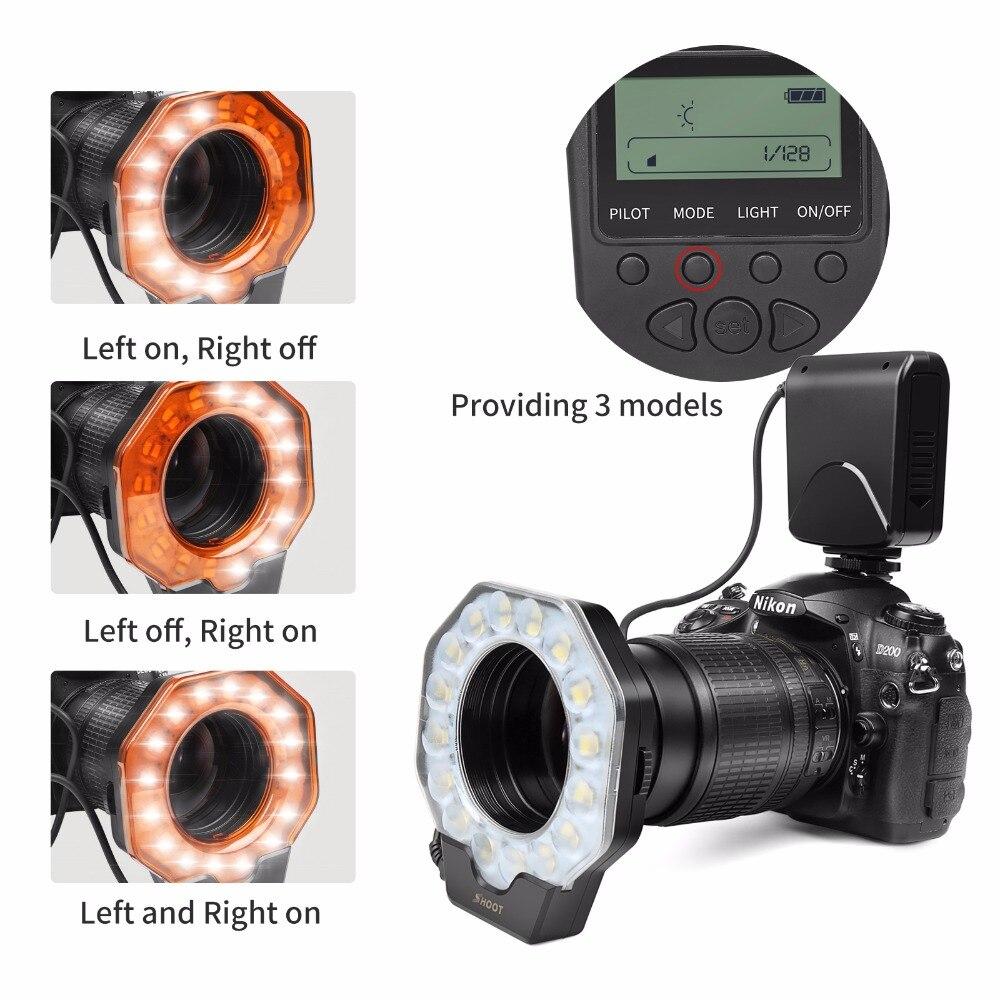 Aliexpress.com: Comprar Disparar Macro anillo Led de luz de Flash Speedlite  con anillo adaptador para Nikon D5100 D3100 serie Canon 5D Mark II 7D 10D  cámara ...