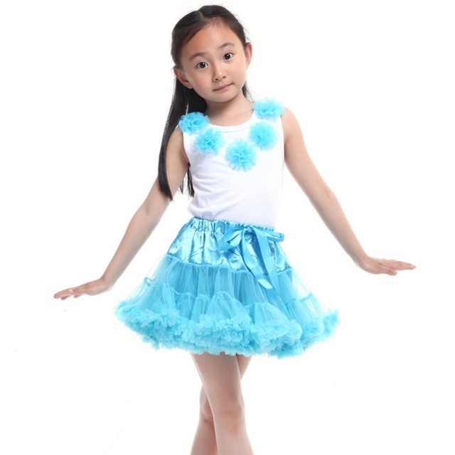 0-10Y Children Kid Baby Girls Multilayer Tulle Party Dance Cake Tutu Skirt