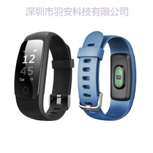 New Id107plus Heart Rate Smart Ring Sports Message Alerting Health Tracking Bracelet Free Shipping