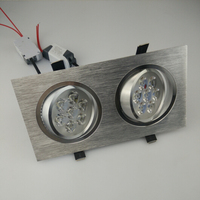 10W 14W 18W 24W Square led downlight white, warm white aluminum spot led light fixture indoor lighting RoHS CE