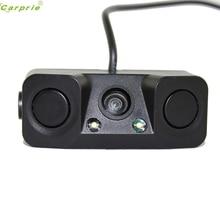 Авто Ночное видение Камера монитор 2LED заднего вида Камера с радар Парковка Сенсор dec07