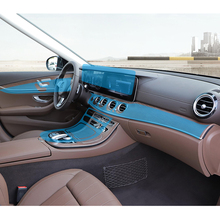 For Mercedes Benz W213 E200 260 300 transparent Promotion TPU Film Cover sticker for mercedes E