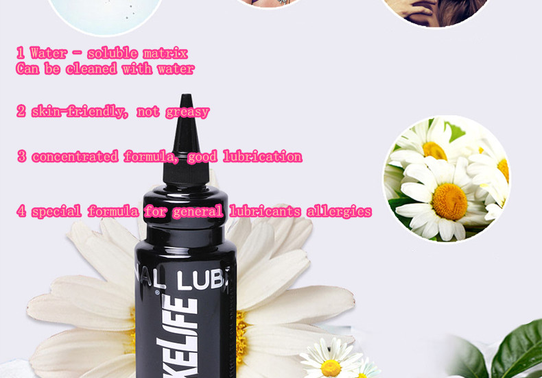 330g Transparent Man Anal Sex Lubricant for Gay Water-soluble Sex Oil Colorless Odorless Masturbation Lube Sex Products for man 3