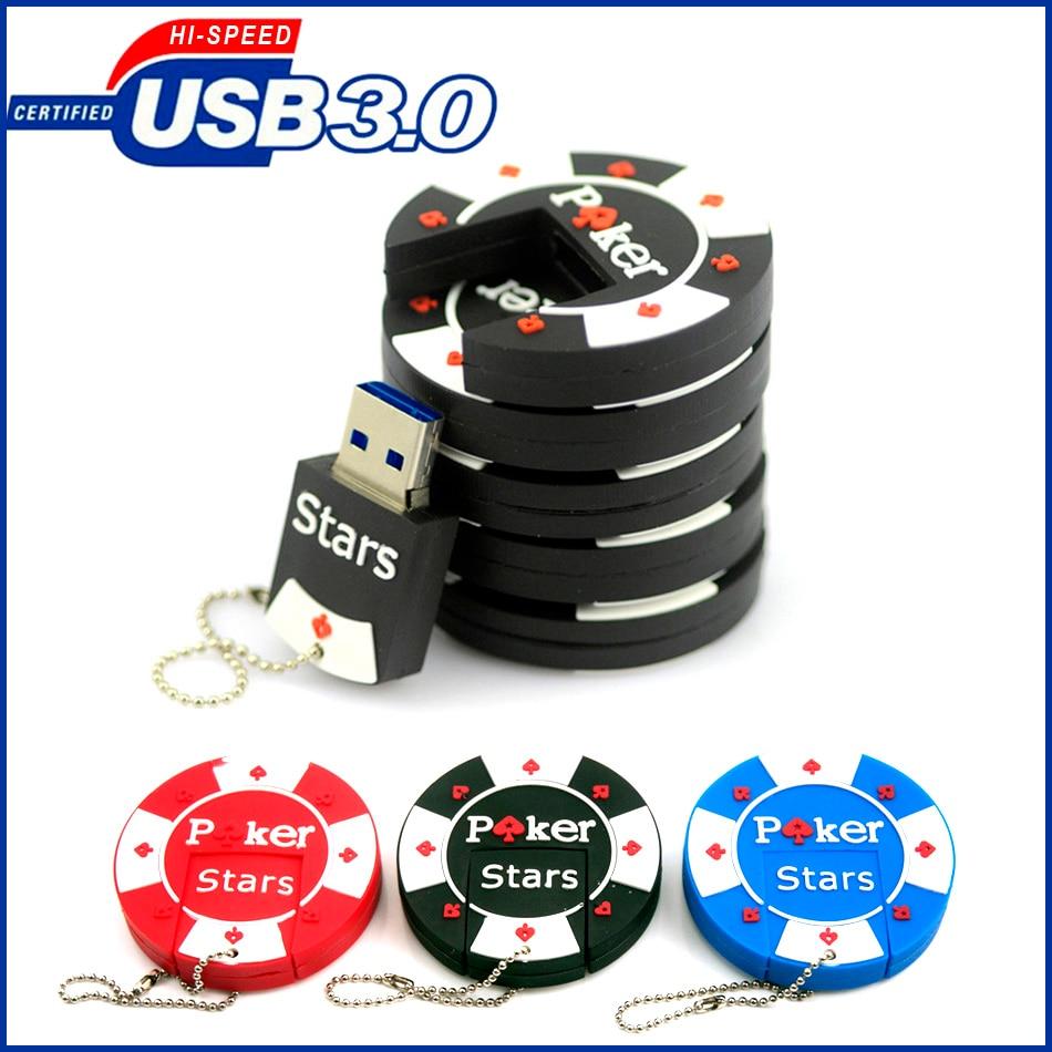 USB3.0 Poker chips Flash Drive ,Pen drive 16GB, Poker chips gifts Usb Flash Drive / Usb Memory Stick 4gb 8GB 16GB 32GB 64GB