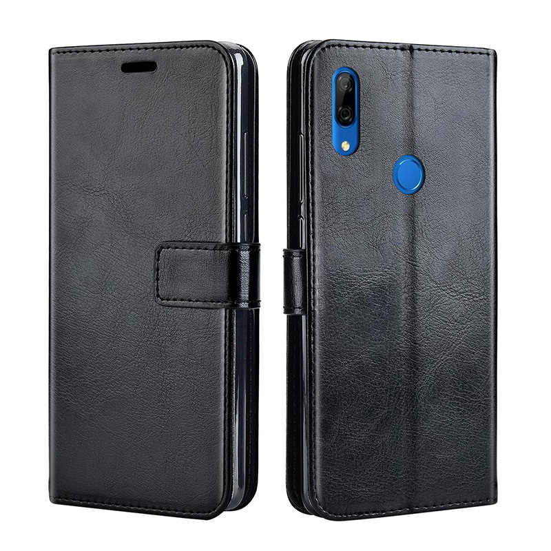 Leather case on For Huawei P Smart Z 2019 Case Back Cover Flip Case For Huawei P Smart Z PSmart PSmartZ SmartZ