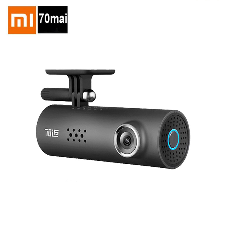Original Xiaomi 70 Minutes Smart WiFi Car Came70mai CWrieless Dash Cam 130 Degree Mstar8328P Chipset SonyIMX323 1080P Car Camera