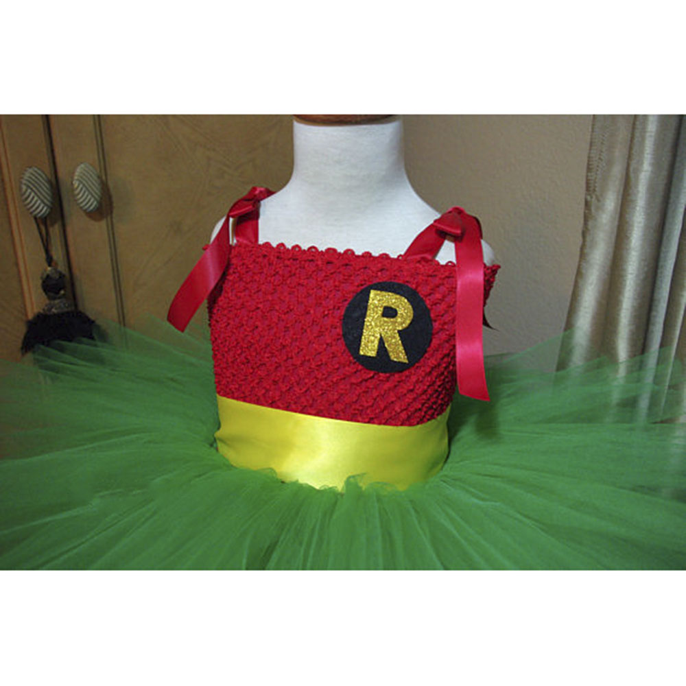 Robin Cosplay Tutu Dress Baby Girl Birthday photo prop Halloween Robin Costume Superhero Party Tutu Dresses Child Winter Clothes-in Dresses from Mother ...  sc 1 st  AliExpress.com & Robin Cosplay Tutu Dress Baby Girl Birthday photo prop Halloween ...