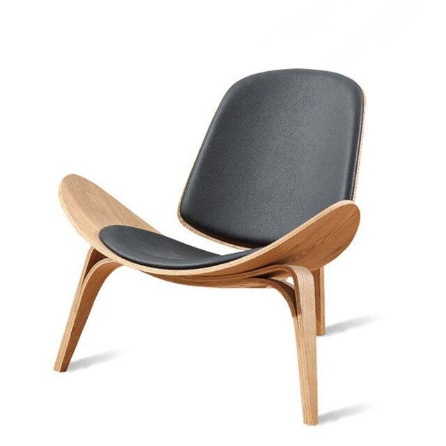 Фото стул с трехножным корпусом в стиле ханса вегнера черная фанера цена