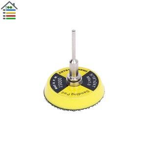 Image 4 - 16pcs 2 inch Sanding Disc Sponge Polishing Pad 50mm Dia for Dremel 3000 4000 Mini Grinder Car Waxing Hook and Loop Rotary Tool