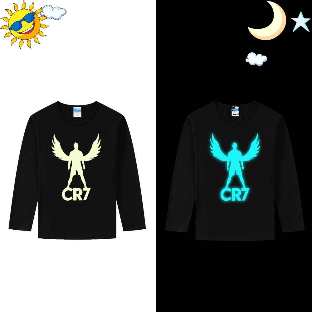 LYTLM T-shirt manches longues fille | CR7, pour enfants et filles, vêtements d'hiver