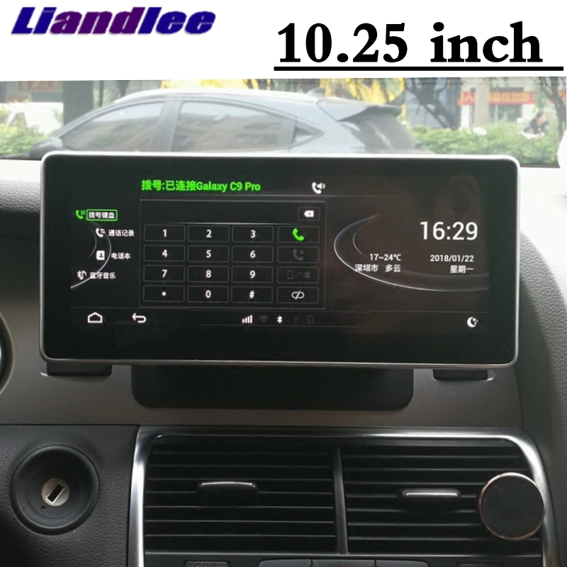 Liandlee Car Multimedia Player NAVI For Audi Q7 4L V12 TDI 2005~2013 Original Car System inch Radio Stereo GPS Screen Navigation 4