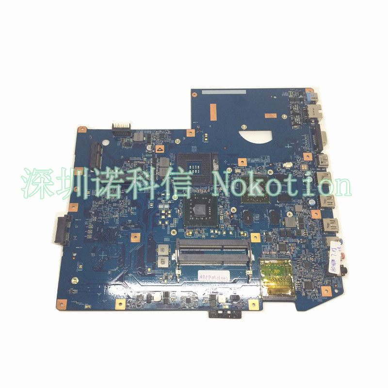 NOKOTION Original Laptop motherboard For Acer aspire 7736 7736z 48 4fx04 11 MBPPM01001 Mainboard DDR3 GM45