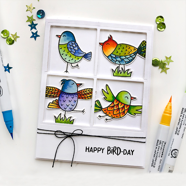 Dies Scrapbooking Metal Birds Set Frame Cutting Dies Craft Die New 2018 Stamps Stencils Embossing Photo Paper Card Making Cut