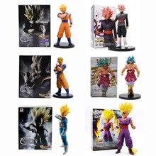 6 Style 15-23cm Dragon Ball Z PVC Action Figure Toys Anime Super Saiyan Son Gohan Zamasu Burdock Broli Kids Collection Model Toy цена 2017